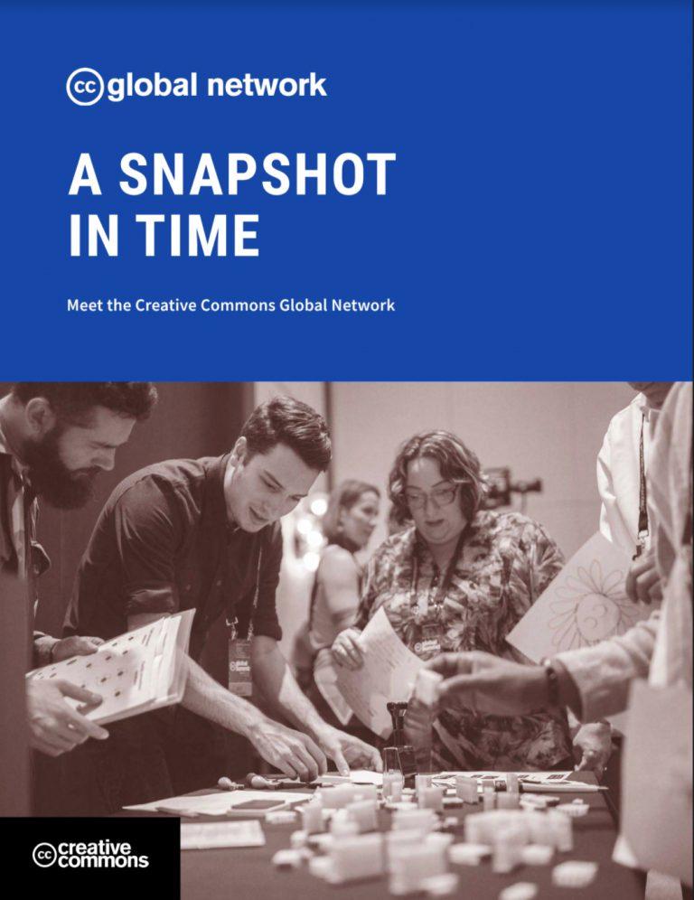 A Snapshot in Time: CC 全球社群網絡的研究報告